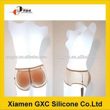 Suave silicona de glúteos y almohadillas para la cadera con bragas