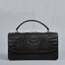 Genuine crocodile mini crossbody shoulder bag_exotic handbag_mini lady bag_summer lady bag