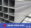 proveedor de china de tubería de hierro galvanizado con sección cuadrada hueca