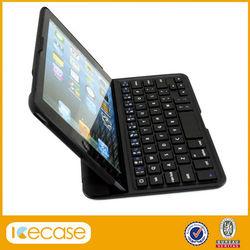 2014 new hot selling For ipad mini bluetooth keyboard luxury ultra thin aluminum alloy wireless bluetooth keyboard 4 color