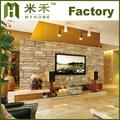hochwertigen pvc 3d stein tapete Wohnzimmer Design