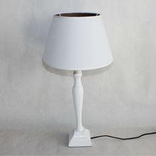 Resin table lamp for home desk lighting