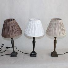 Resin table lamp for desk lighting