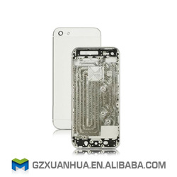 Wholesale replacement parts for iphone 5 back cover housing with middle frame