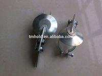 Galvanized steel heavy duty muffler/silencer exhaust rain cap for cars