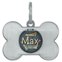 Custom Bone Shaped Dog ID Pet Tag