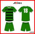 Haute qualité maillot de football personnalisé, uniformes de soccer avec oem
