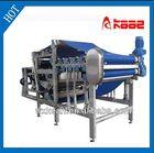 Pineapple squeezer belt press machine manufactured in Wuxi Kaae