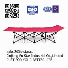 Natural adjustable outdoor military fold away folding sofa bed / sofa cum bed