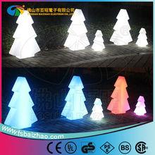 multicolor led glowing tree / Christmas decoration / garden decorative light