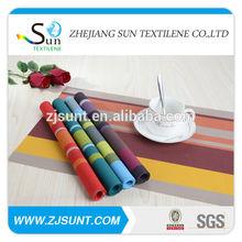 Colorful fashion rectanglar plastic doilies