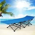 militar del ejército de ikea muebles de hierro forjado de la playa de la cama cuna plegable campamento