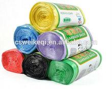 Garbage bag/ China Manufacturer Custom plastic garbage bag in roll for garbage