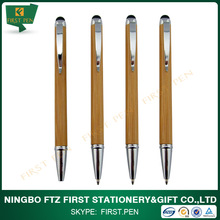 new design recycled bamboo ball pen