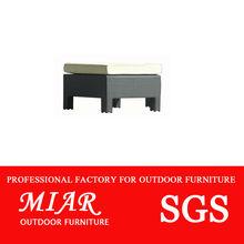 Outdoor rattan wicker sofa footstools 302155D