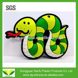 Customized soft pvc rubber fridge magnet