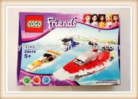 DIY 3D puzzle airship block toy , airship block toy