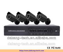 cctv dvr kit h.264 4CH DIY cctv camera dvr kit outdoor cctv camera dvr kit