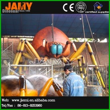 Interactive Giant Mechanical Insect Statue