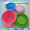 Food Grade Silicone Pet Dog Travel Bowl/Collapsible Travel Pet Bowl
