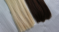 Cheap tangle and shedding free hair extensions weft russian silicone micro ring