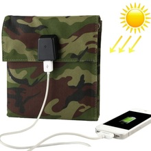 hot selling 10W Portable Folding Solar Charger Bag for Laptops / Mobile Phones