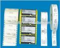 La costumbre de impresión adhesivo a prueba de agua impresa el logotipo de las etiquetas, auto-adhesivo de etiquetas de aluminio