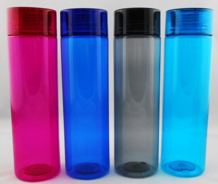 bulk azul vermelho rosa colorido transparente de plástico tritan cantina água