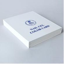 Nail Polish Color Book Set Uv Gel Color Card Nail Tech Book Color Display Box