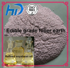 China edible grade activated bentonite clay for vegetable oil refinery