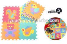 Cheap price 9 Pcs set Winnie Crawling Rug baby mat Cartoon Floor Mat Baby's Climb Blanket Eva Foam Puzzle Mat Game Carpet