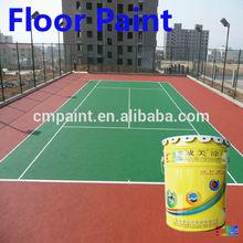 Floor coating- Good quality cement floor gymnasium polyurethane out door floor painting