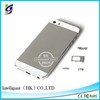 Plating gold metal back cover for iphone5s made in China factory