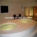 bianco puro modelli ad alta lucidato piastrelle per bagno