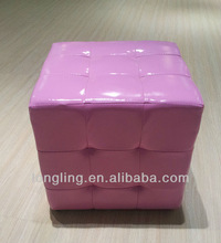 OTM-12 cube model upholstered beautiful ottoman