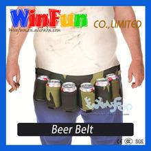 Adult Party Item Beer Holder Belt Beer Can And Bottle Holder