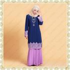 Transend 14686 Pretty Islamic Design 2014 Beaded Baju kurung Melayu