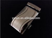 atu8240 wholesale flat auto lock belt buckle for men genuine leather belt