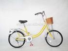 "20"" low price lady yellow bicycle/bike/cycle SH-CB019"
