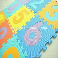Children's environmental protection EVA digital puzzle mat, MATS, baby crawling mat educational