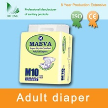 most dry and comfortable China adult diaper for old people's home
