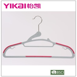 2014 Hot selling new style multifunction anti-slip plastic clothes hanger