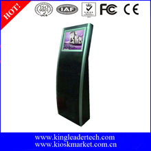 Extra Slim Freestanding Touchscreen payment information kiosk