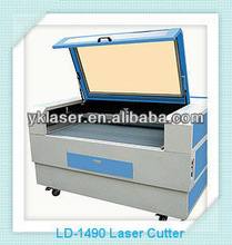 UK-1490 Newest laser engraving application co2 granite stone / marble / wood acrylic rubber plastic laser engraving machine