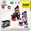 Adjustable Quad Roller Skates PVC 4 wheel adjustable quad skate for growing kids,Adjustable Youth Quad double row skate