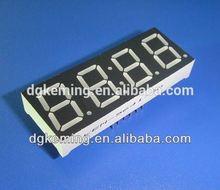 cheap 0.56 inch seven segment led large digital wall clock time display