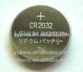 venda quente bateria 2032 na pilha da tecla baterias de 3v bateria de lítio recarregável cr2032