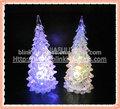 acrílico de colores de cristal del árbol de navidad