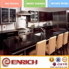 PVC/white melamine kitchen home bar hotel cabinet designs