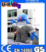 Giant inflatable robot cartoon